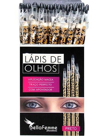 Lápis Preto de Olhos – Oncinha – Display com 36 unidades