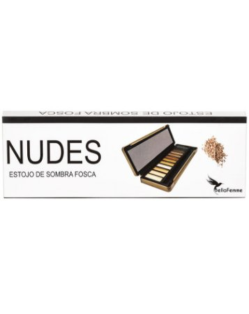 Estojo de Sombras Nudes – Caixa com 12 estojos