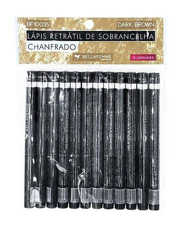 Lápis Chanfrado de Sobrancelha – Solapa com 12 unidades