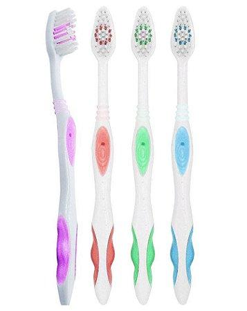 Escova Dental Média Sorriso Mais Bonito - 60 dúzias