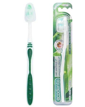 Escova Dental - Sorriso Natural - Solapa com 12 unidades