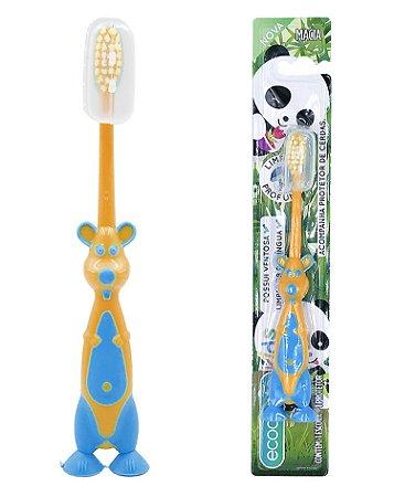 Escova Infantil Amigo Panda - Solapa com 12 unidades
