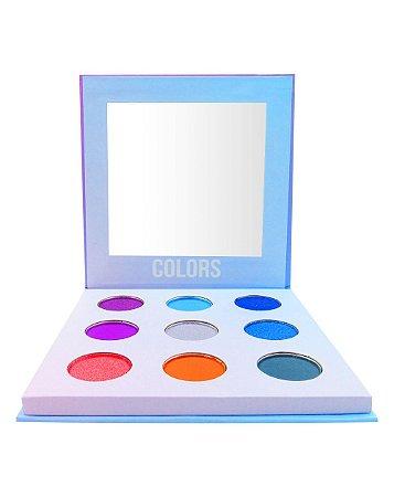 Paleta de Sombras Colors – Display com 12 estojos