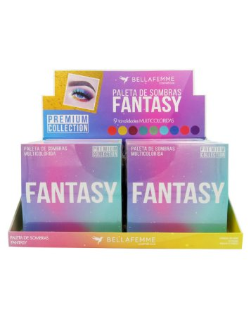 Paleta de Sombras Fantasy – Display com 12 estojos