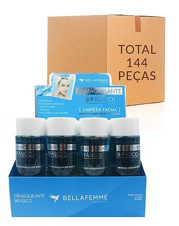 Demaquilante Bifásico – Bella Femme BF10070 – Caixa Fechada com 12 Displays