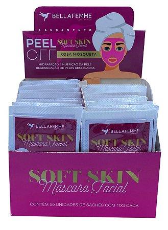 Máscara Peel Off Rosa Mosqueta – Display com 50 unidades