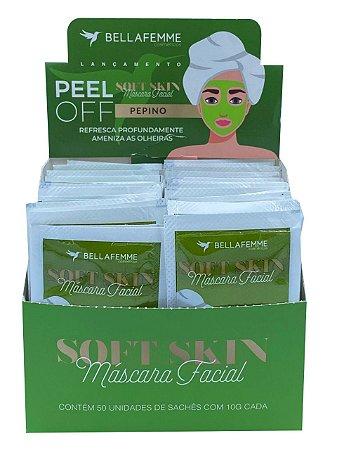 Máscara Peel Off Pepino – Display com 50 unidades