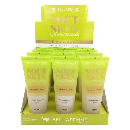 Gel Antioleosidade Extrato de Chá Verde – Bella Femme SS80042 – Caixa fechada com 12 Displays