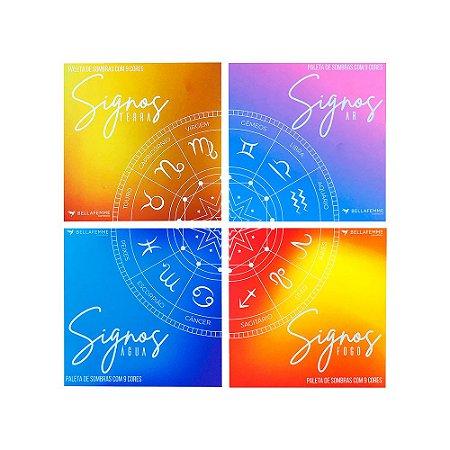 Quarteto de Sombras Signos Bella Femme
