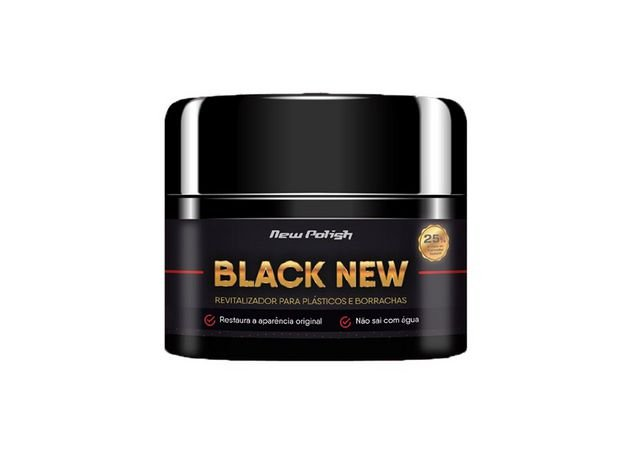 Black New - Revitalizador de Plásticos