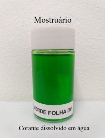 Corante Verde Folha DV (em pó) - 20g