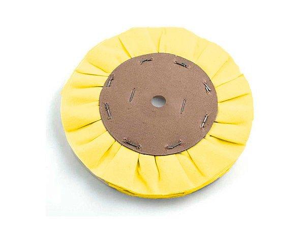 """Disco Ventilado Resinado Amarelo 152mm- 6"""" Poli-Max"""