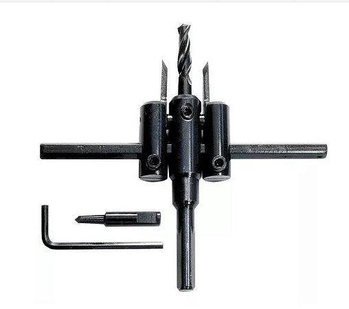 Furador Broca Serra Bailarina 30 A 120mm Ajustável - Mtx