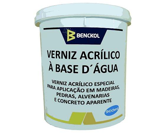 Verniz Acrílico base d. Água 900 ml - BENCKOL