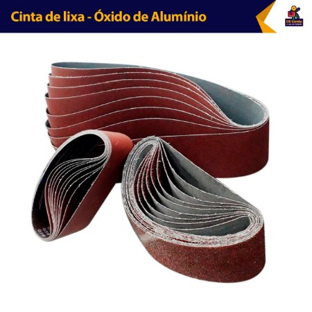 Cinta de Lixa 2000x50mm Para  Madeira, Ferro Grão 100