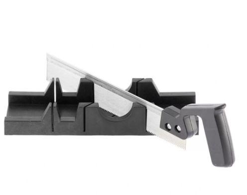 Caixa Meia Esquadria em Plástico 300x65mm com Serra 300mm - SPARTA REF.2253055