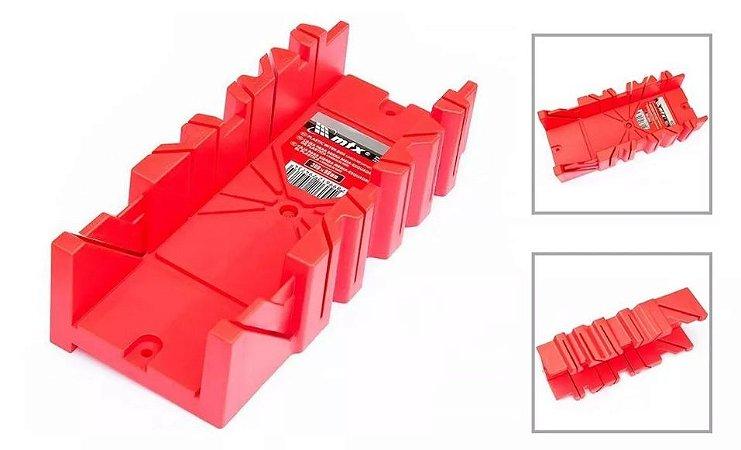Caixa Esquadria Meia Para Serra 300x90mm Plástica Mtx REF.225479
