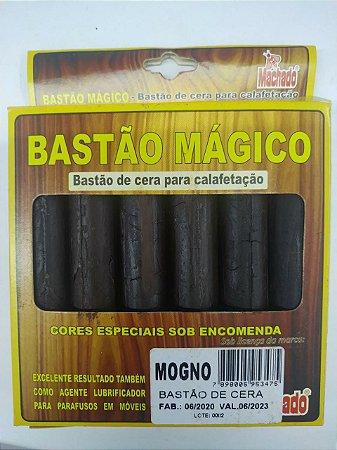 BASTÃO DE CERA PARA CORREÇÃO DE MADEIRA MOGNO CAIXA C/ 6 - MACHADO