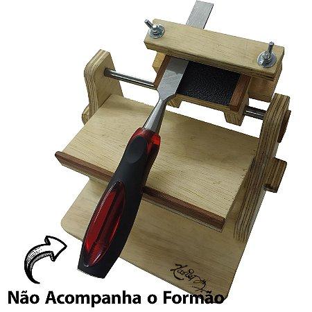 GABARITO PARA AFIAÇÃO DE LÂMINAS DE PLAINAS E FORMÕES - XAVIER
