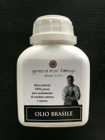 OLIO BRASILE APLICAÇÃO INT/EXT. 250ML - GENERAL IRON FITTINGS