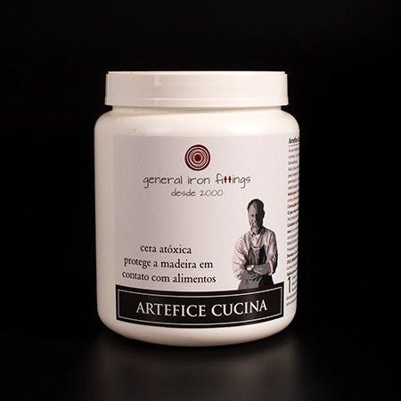 ARTEFICE CUCINA P/ CONTATO C/ ALIMENTO WOOD 900ML - GENERAL IRON FITTINGS