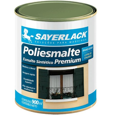 POLIESMALTE BRILHANTE AREIA 900ML - SAYERLACK