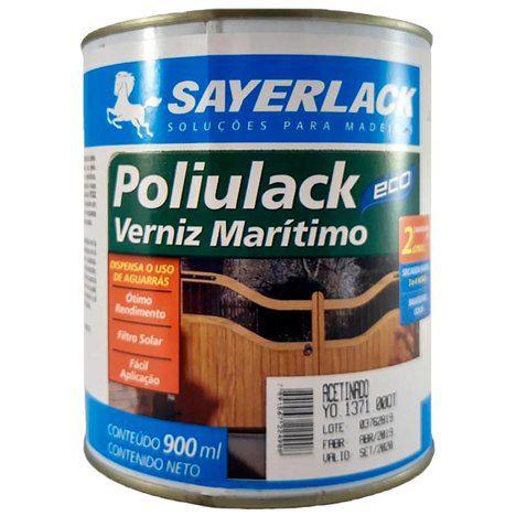 VERNIZ MARITIMO POLIULACK ECO 900ML - SAYERLACK