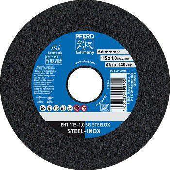 DISCO DE CORTE EHT 115MM 1MM - PFERD