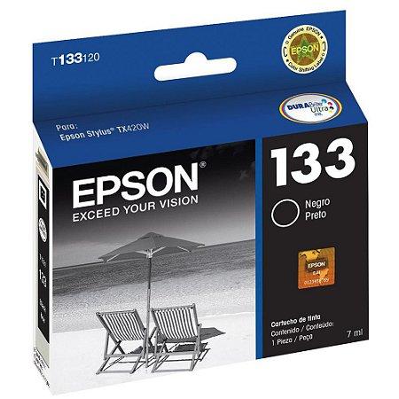 Cartucho de Tinta Epson T133120 Preto 7ml