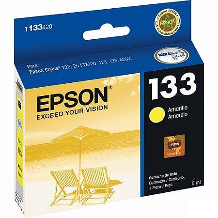 Cartucho de Tinta Epson T133420 Amarela 5ml
