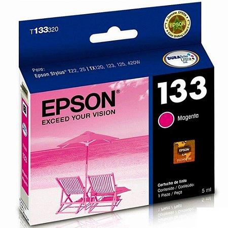 Cartucho de Tinta Epson T133320 Magenta 5ml