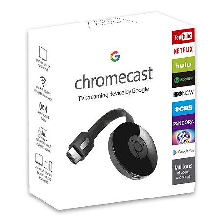 Chromecast 3 HDMI 1080p Google Transforme sua TV em Smart