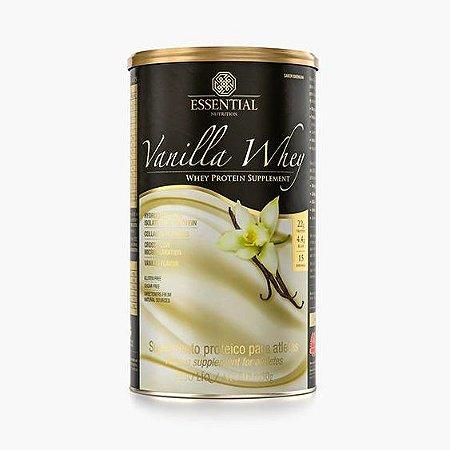 Vanilla Whey 450g Whey Protein Hidrolisado e Isolado sabor Baunilha