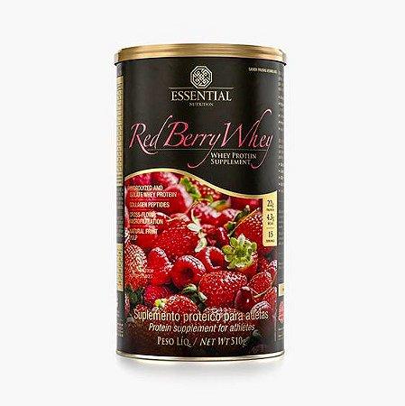 Red Berry Whey 510g Whey Protein Hidrolisado e Isolado com frutas vermelhas