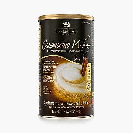 Cappuccino Whey 448g Whey Protein Hidrolisado e Isolado sabor Cappuccino