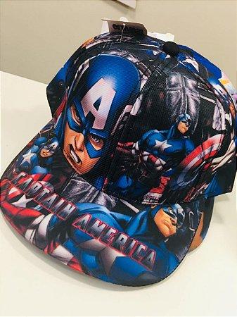 Boné Capitão América  Infantil