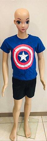 Camiseta Capitão América Tam:4