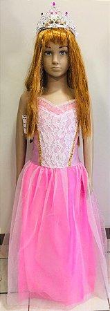 Fantasia Princesa Infantil Tam: G