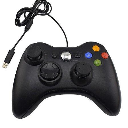 Controle USB estilo Xbox 360