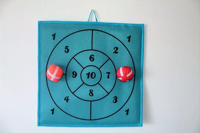 Brinquedo Educativo Brincando com os número - Alvo Azul