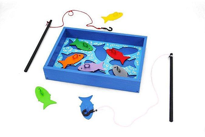 Brinquedo Educativo Pesca Esportiva Carimbras