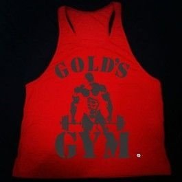 Camiseta Regata Gold's GYM