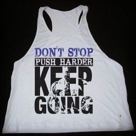 Camiseta Regata Keep Going