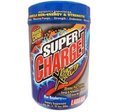 Labrada Super Charge! Xtreme 4.0  Framboesa azul, 800 gramas