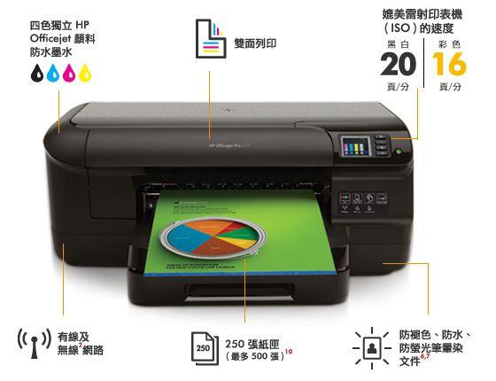3 - Duas Impressora Hp 8100 - Completa com Bulkink