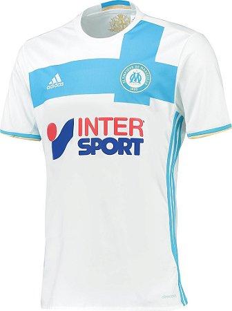 Camisa oficial adidas Olympique de Marseille 2016 2017 I jogador