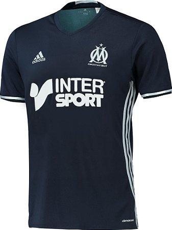 Camisa oficial adidas Olympique de Marseille 2016 2017 II jogador