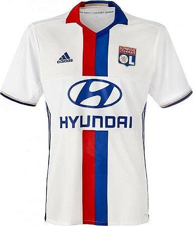 Camisa oficial Adidas Lyon 2016 2017 I jogador