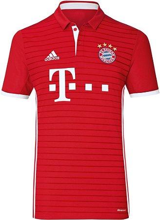 Camisa oficial Adidas Bayern de Munique 2016 2017 I jogador