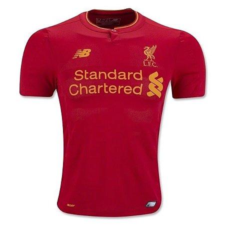Camisa oficial New Balance Liverpool 2016 2017 I jogador